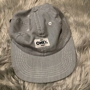 Only Pinstripe Hat